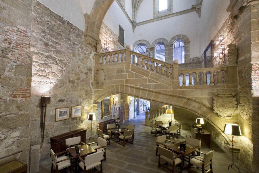 Detalles interior Parador de Plasencia, Extremadura