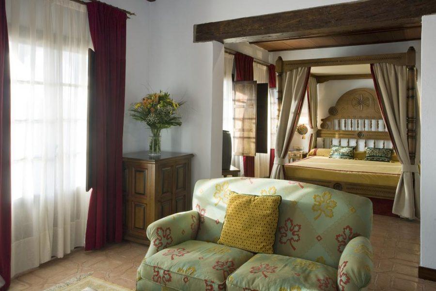 Habitación Parador de Plasencia, Extremadura