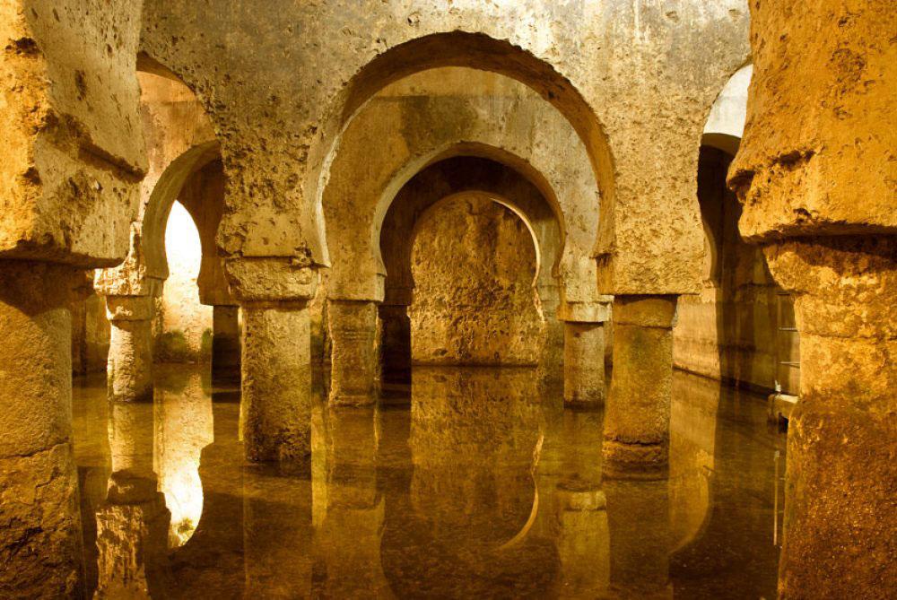 Arcos inundados, Cáceres, Extremadura