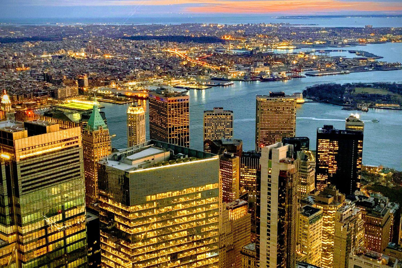 Vistas ciudad de New York