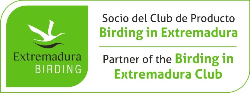 Logo Club de Extremadura Birding
