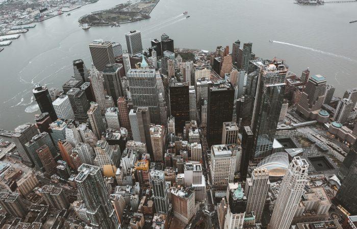 Vista aérea de New York